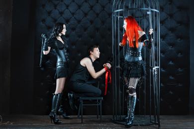 Jeux de rôles érotiques de BDSM & fétichisme