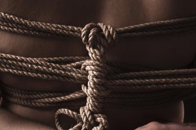 Cordes pour bondage Shibari Kinbaku